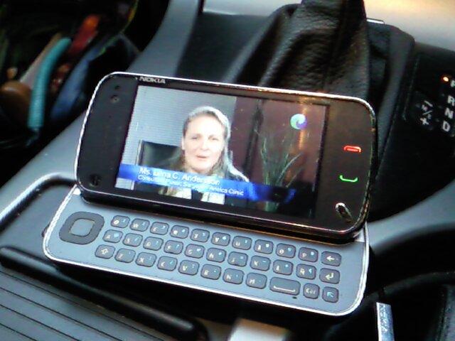 "Harley Street TV on Mobile Breast Cancer ""Walk the Walk"" series"