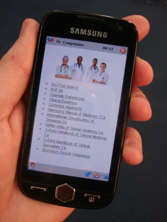 Doctor Companion, a popular mHealth application