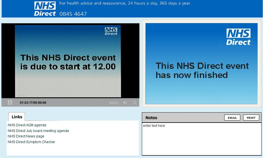 how to find nhs number online