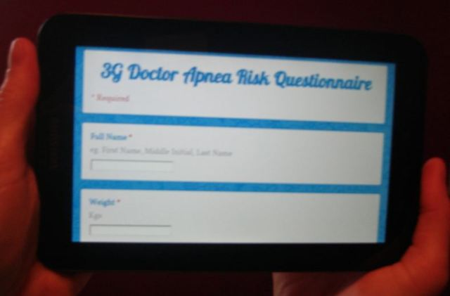 Tablet Based Interactive Questionnaires Replacing ClipBoards in Medical Practices