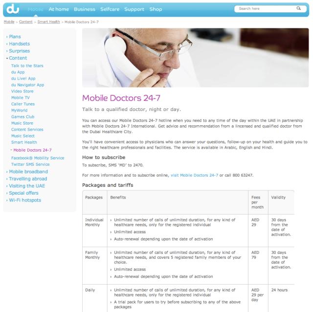 Du Mobile Doctors 24 7