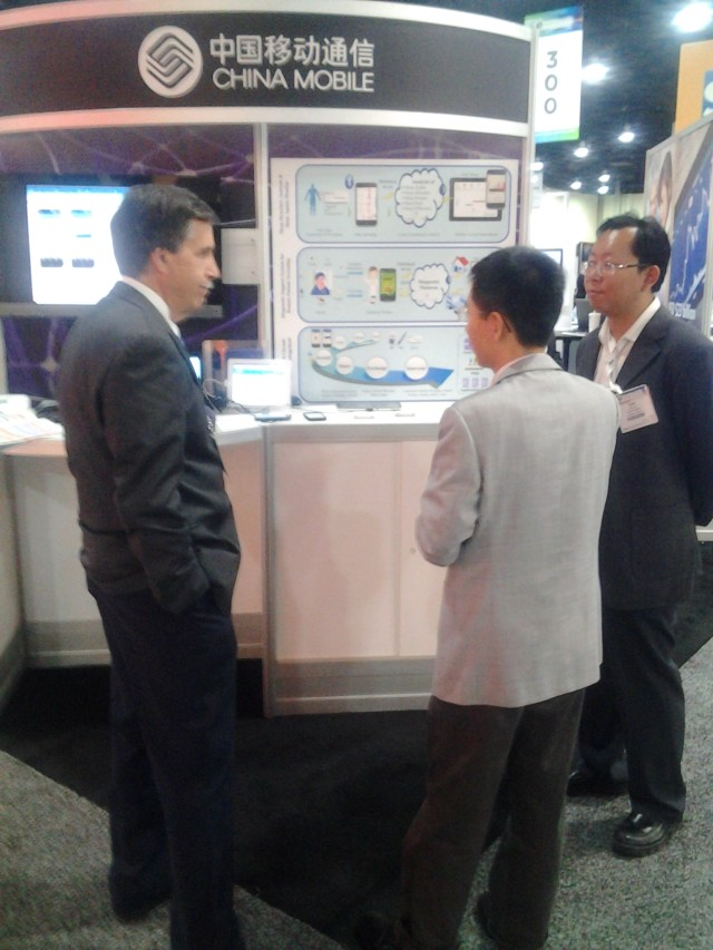 China Mobile booth at the 2012 mHealth Summit