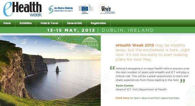 eHealth Week 2013 Dublin