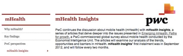 PWC mHealth Insights