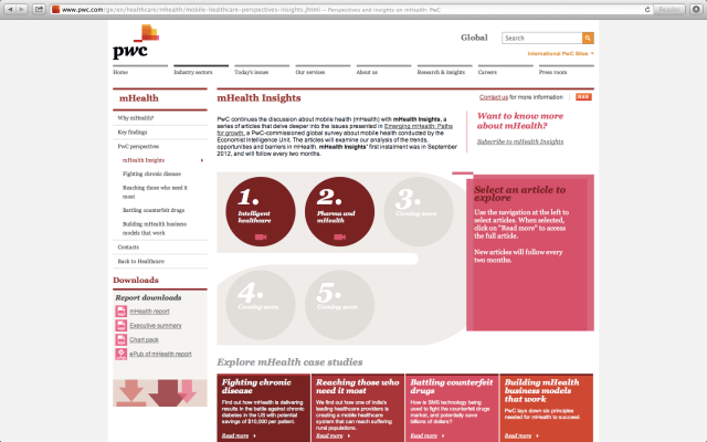 PWC mHealth Insights