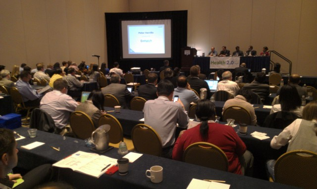 Standing room only at Health 20 at the mHealth Summit 2012
