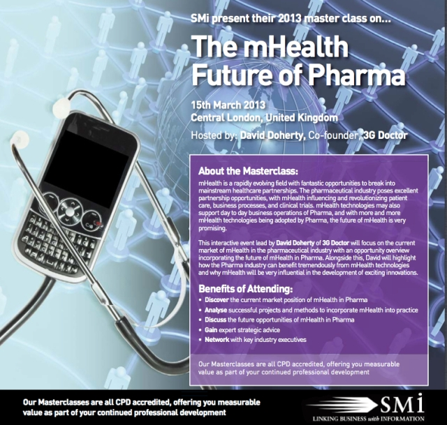 The mHealth Future of Pharma Masterclass