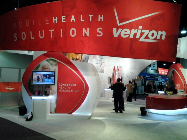 Verizon Booth at the 2012 mHealth Summit