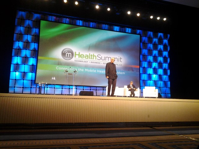 Vinod Khosla presenting at the mHealth Summit 2012