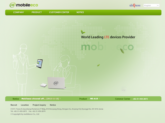 MobileEco Website