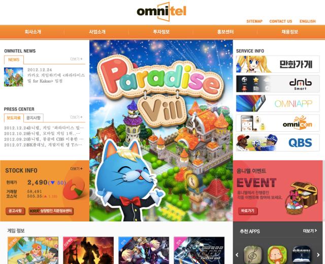 Omnitel Website