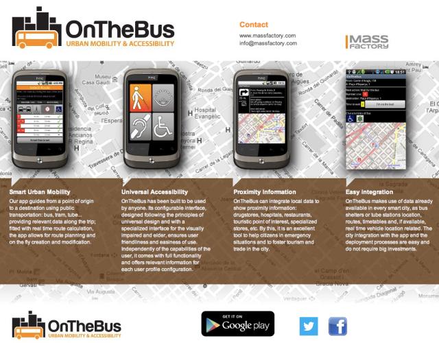 OntheBus Website