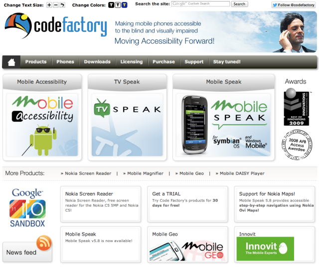 CodeFactory Website