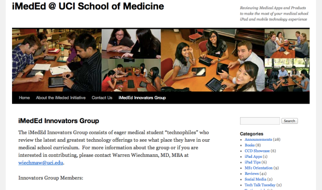iMedEd Innovators Group