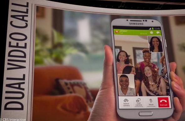 Samsung Dual Video Call