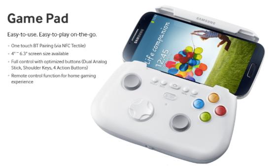 Samsung GS4 Game Pad