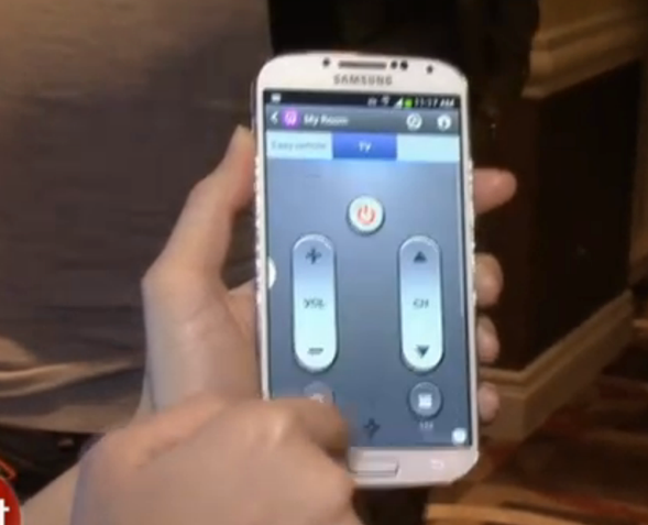 The Remote Control for your life Samsung GS4