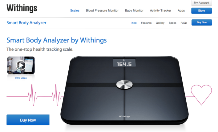 Withings have dropped the name Body Monitor for Smart Body Analyzer