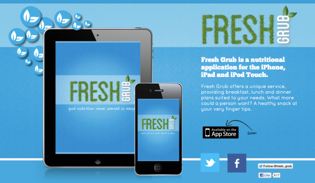 FreshGrub Website