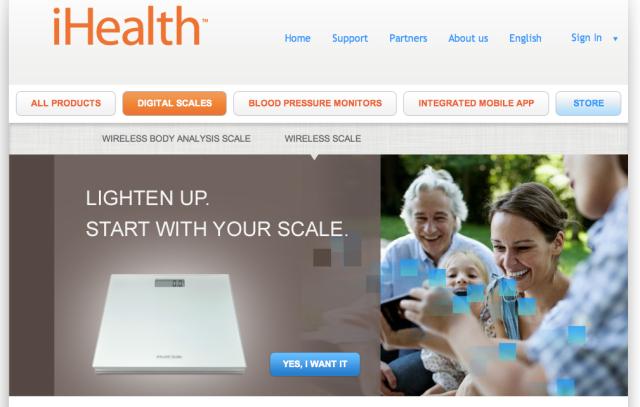 iHealth Website