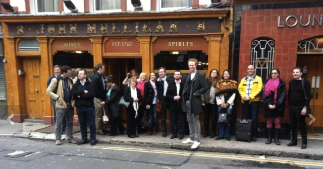 mHealth networking group hits John Mulligan Pub Dublin EHW13