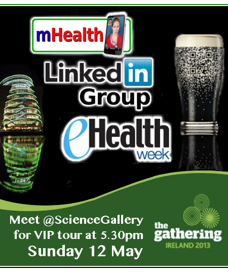 mHealth Networking Group Meet up at eHealth Week 2013 in Dublin