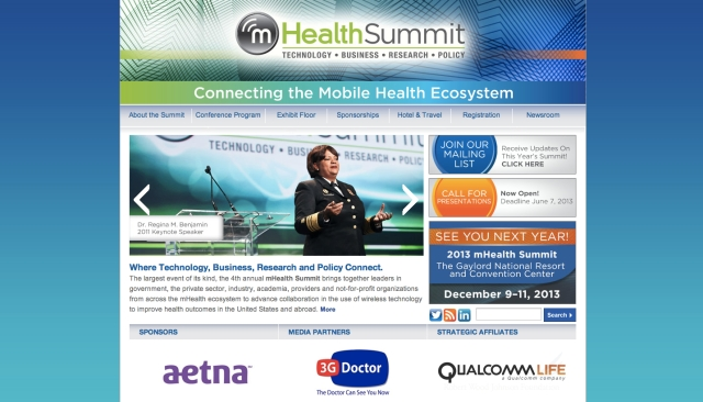 mHealth Summit Website