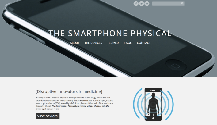 The Smartphone Physical Website