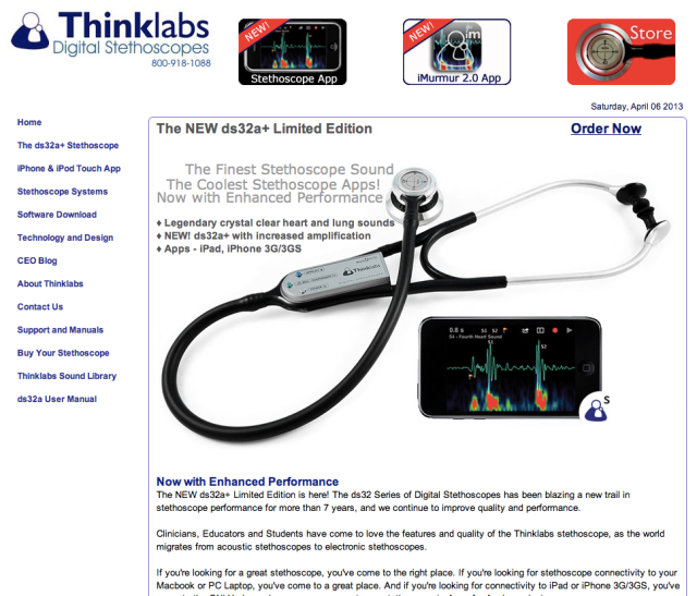 ThinkLabs Digital Stethoscopes