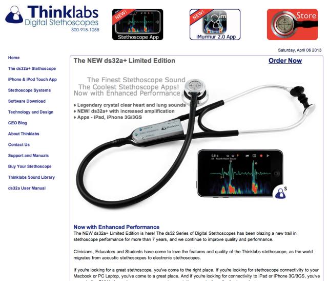 ThinkLabs Digital Stethoscopes