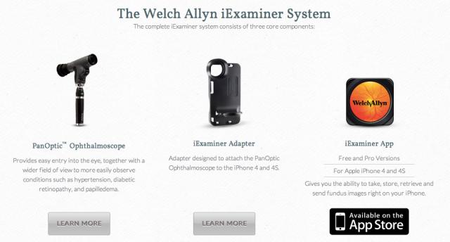 Welch Allyn iExaminer System