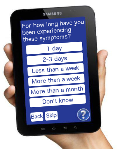3GDoctor Interactive Patient History Taking Questionnaire