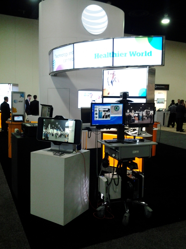 ATT Booth at the 2012 mHealth Summit