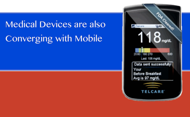 Medical Devices and Mobile Phones have already converged Telcare
