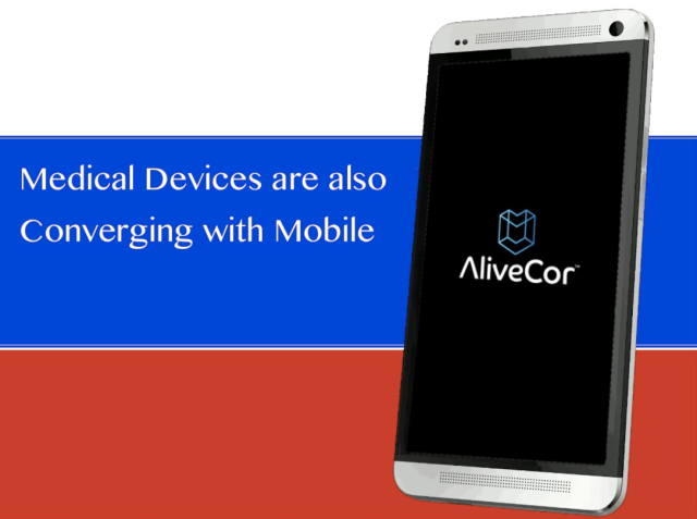 Medical Devices and Mobiles have already converged AlivecorECG