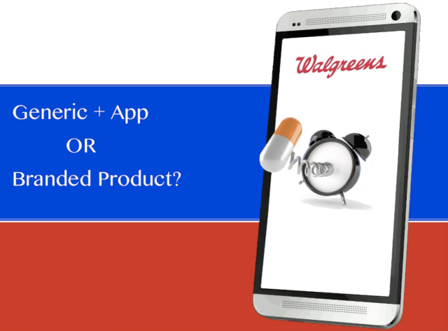 What would you prefer a Generic with an App or a Branded Pill