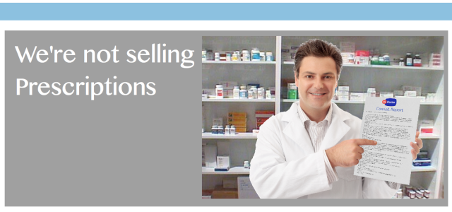 3GDoctor is not selling prescriptions