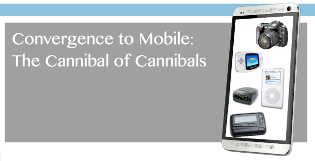 Convergence of Consumer Tech to Mobile