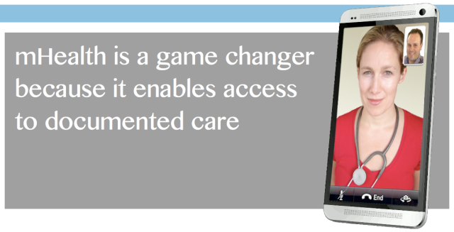 mHealth is a GameChanger because it enables the documentation of care
