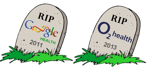 O2 Health joins Google Health in the graveyard of tech firms who tried to rebrand themselves for Health