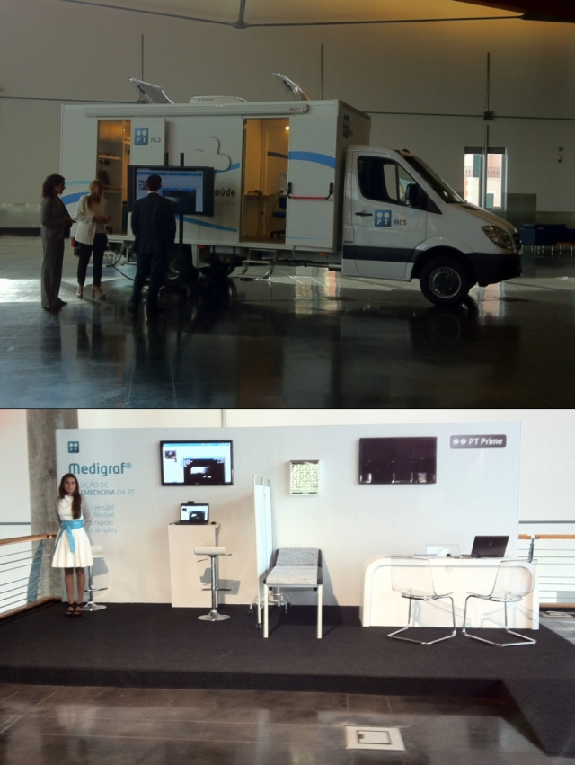 Portugal Telecom Medigraf and Mobile Clinic Vehicle