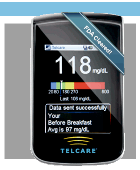 Telcare Mobile Connected Glucometer