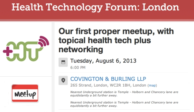 Health Technology Forum London