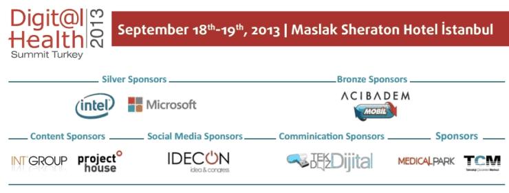 Join us at Digital Health Summit Turkey 2013
