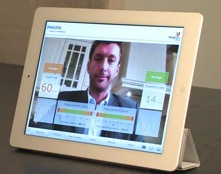 Philips Vital Signs App