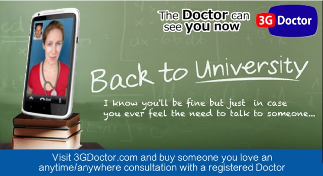 Back to University with 3G Doctor