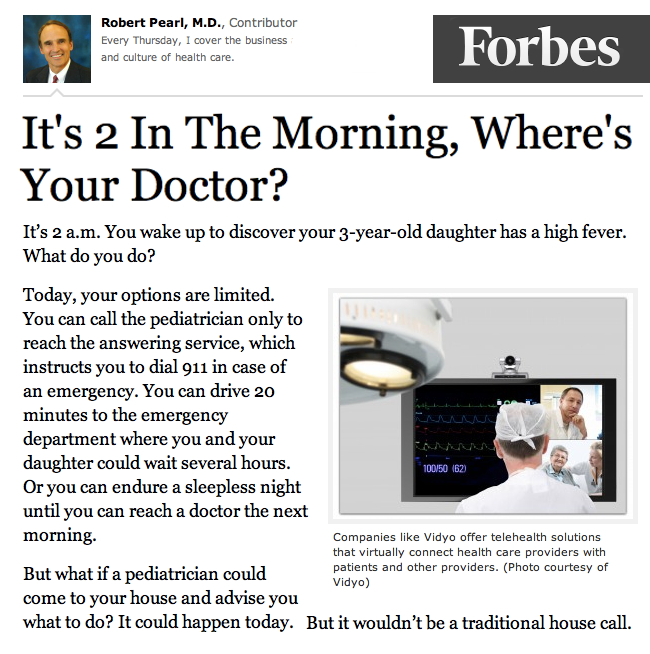 Forbes Its 2 in the morning wheres your Doctor