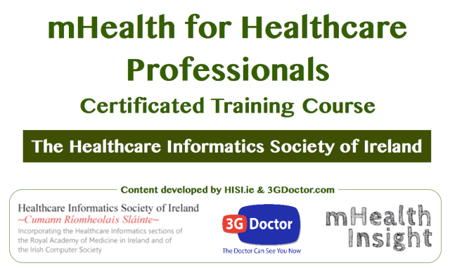 mHealth for Healthcare Professionals Certificated Training Course