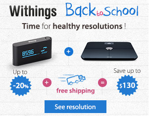 Withings Back to School mHealth Advert