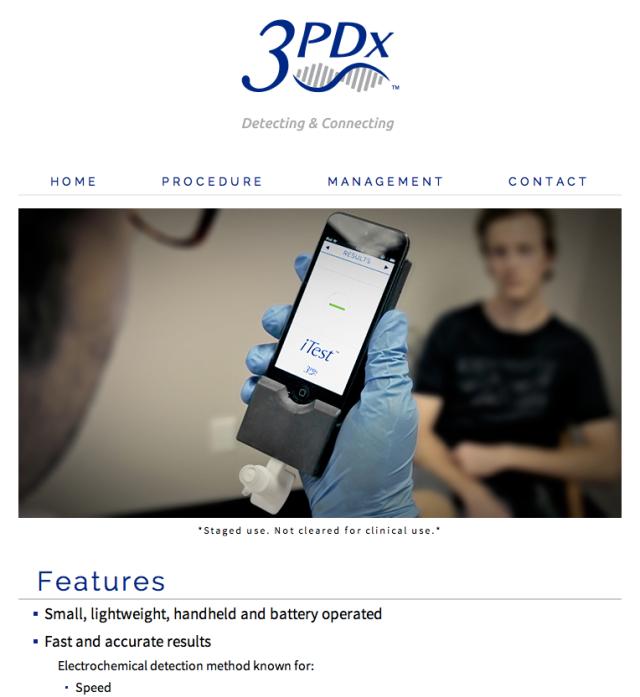 3PDx Website